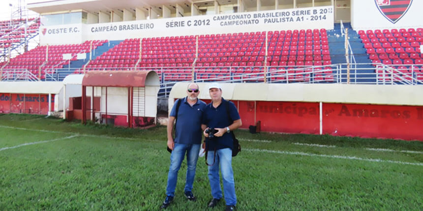 Reabilitação do Estádio dos Amaros para jogos de pequeno porte