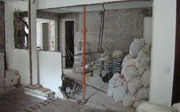 Sobrecarga nas lajes dos condomínios