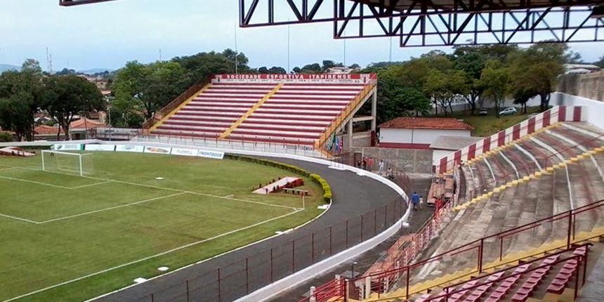 Vistoria no Estádio Municipal Coronel Francisco Vieira, em Itapira