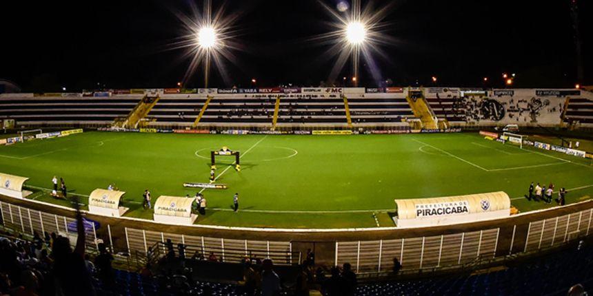 Vistoria do Estádio Municipal Barão de Serra Negra - Piracicaba