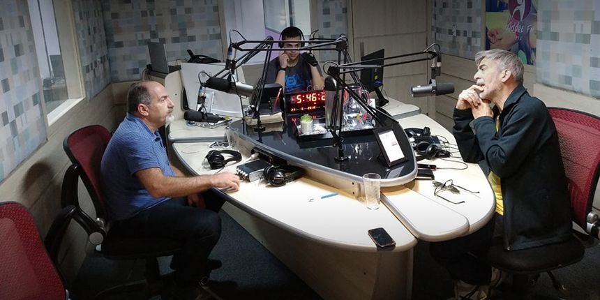 Entrevista na Rádio Adore FM