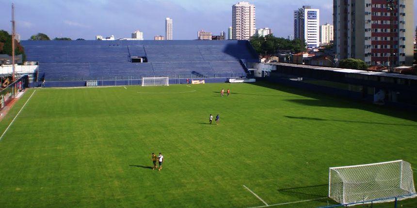 Vistoria no Estádio Evandro Almeida em Belém - PA