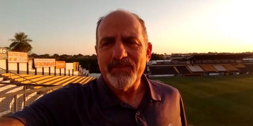 Vistoria no Estádio Doutor Jorge Ismael de Biasi em Novo Horizonte - SP