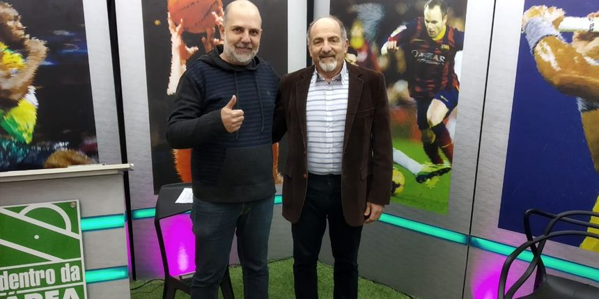 Entrevista no programa Dentro Da Área com Sérgio Loredo