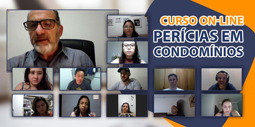 Curso On-line sobre Perícias em Condomínios