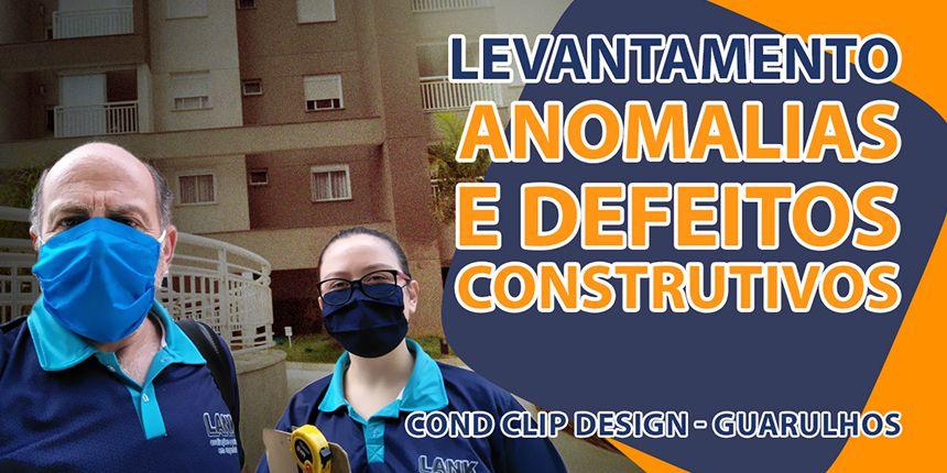 Levantamento de Anomalias e Defeitos Construtivos - Guarulhos