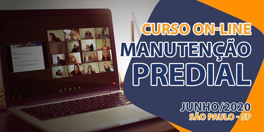 Curso On-line sobre Manutenção Predial - Junho/2020