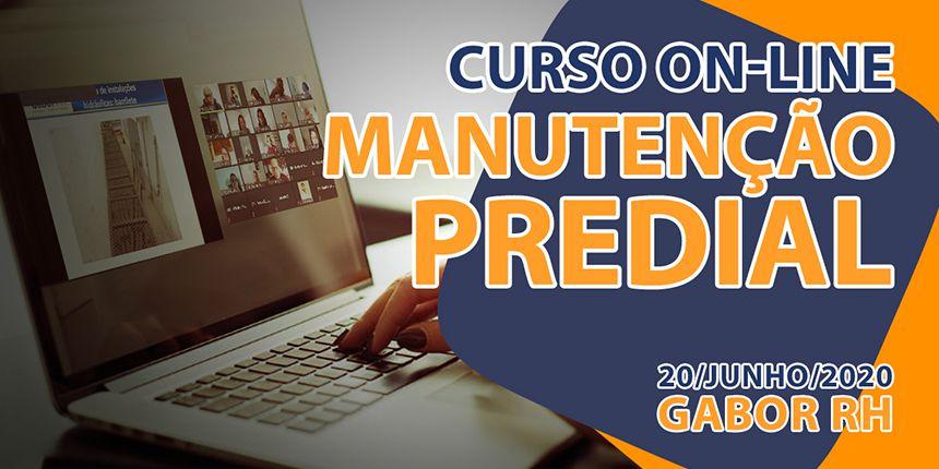 Curso On-line sobre Manutenção Predial - Junho/2020 - Gabor RH