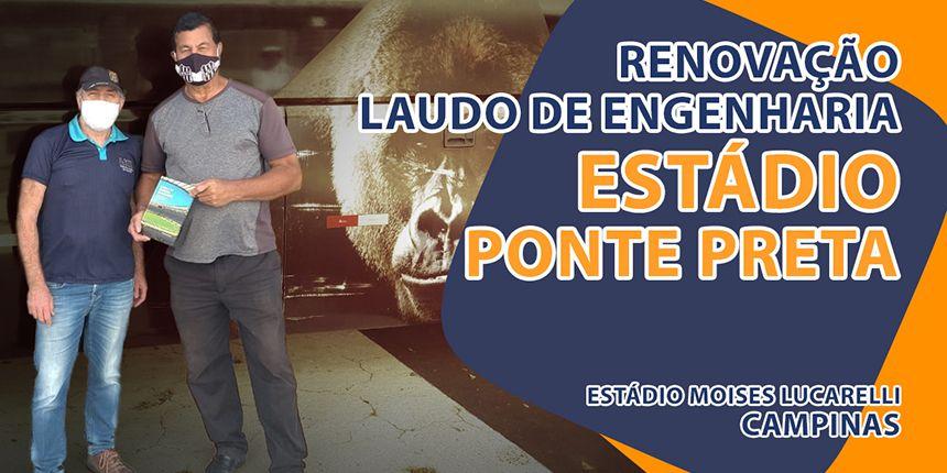 Renovação do Laudo de Engenharia no Estádio da Ponte Preta