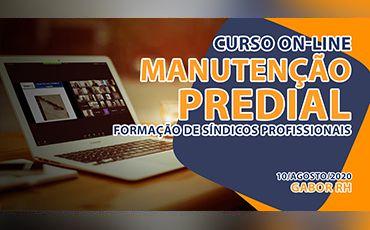 Curso On-line sobre Manutenção Predial - Agosto/2020