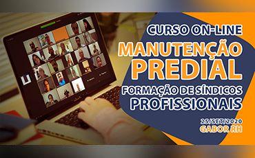 Curso On-line sobre Manutenção Predial - 25/Setembro/2020