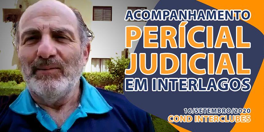 Acompanhamento de Perícia Judicial em Interlagos