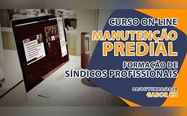 Curso On-line sobre Manutenção Predial - 09/Outubro/2020