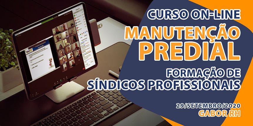 Curso On-line sobre Manutenção Predial - 29/Setembro/2020
