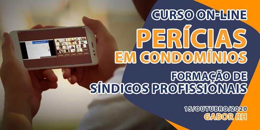 Curso On-line sobre Perícias em Condomínios - Outubro/2020