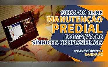 Curso On-Line sobre Manutenção Predial - Novembro/2020