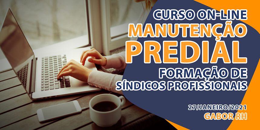 Curso On-Line sobre Manutenção Predial - Janeiro/2021
