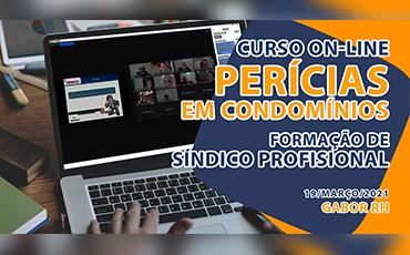 Curso On-line sobre Perícias em Condomínios - Março/2021