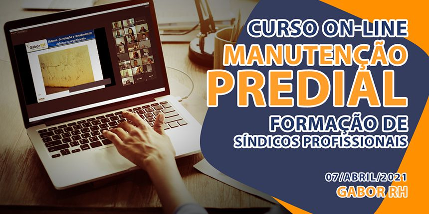Curso On-Line sobre Manutenção Predial - Abril/2021