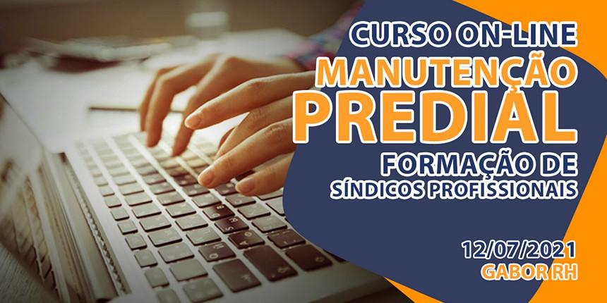 Curso On-Line sobre Manutenção Predial - Julho/2021
