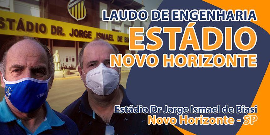 Renovação do Laudo de Engenharia de stádio em Novo Horizonte