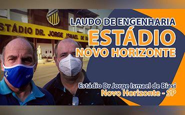 Renovação do Laudo de Engenharia de Estádio em Novo Horizonte