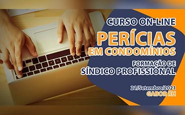 Curso On-line sobre Perícias em Condomínios - Setembro/2021